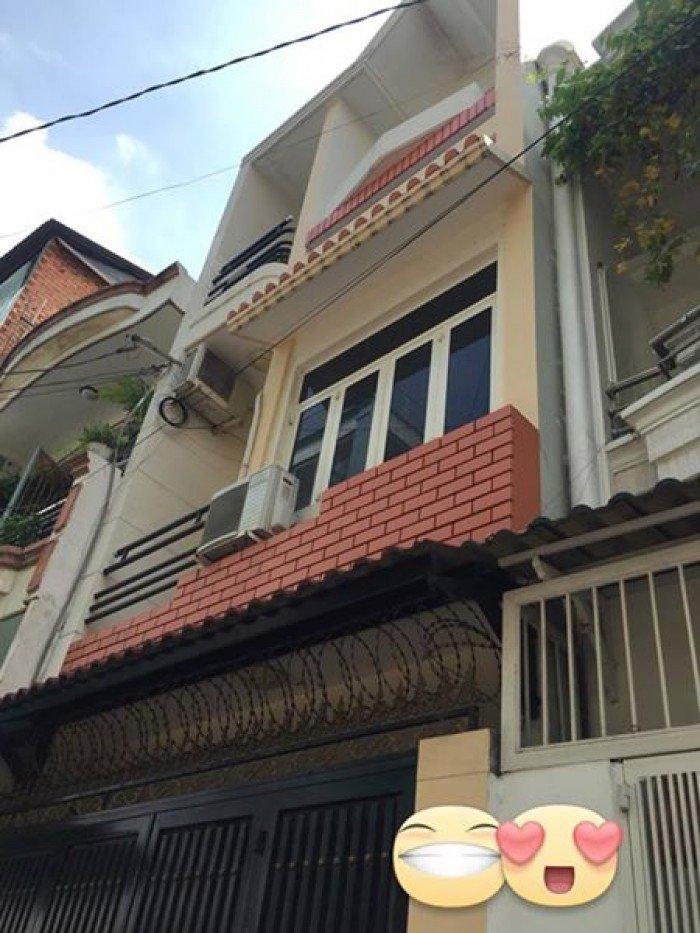 Bán nhà hẻm 3m 490// Nguyễn Tri Phương, DT: 4x7m, 2 lầu, Giá: 2.6 tỷ