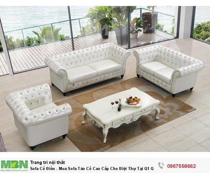 sofa sang trọng màu trắng3