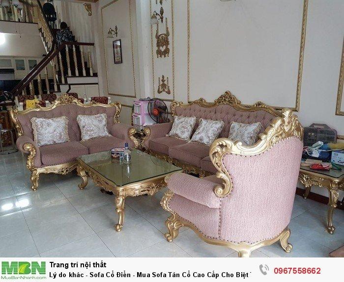 bộ sofa phong cách tân cổ điển hoàng gia Bình Dương4