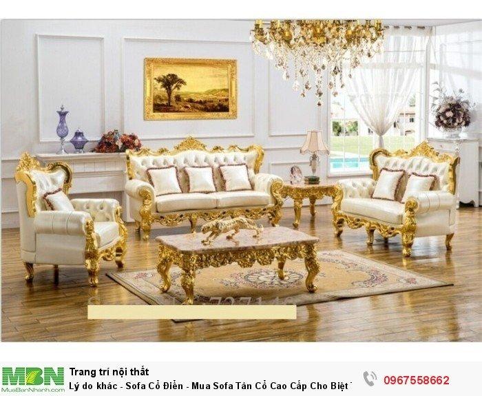 sofa phong cách cao cấp Q7 Q96