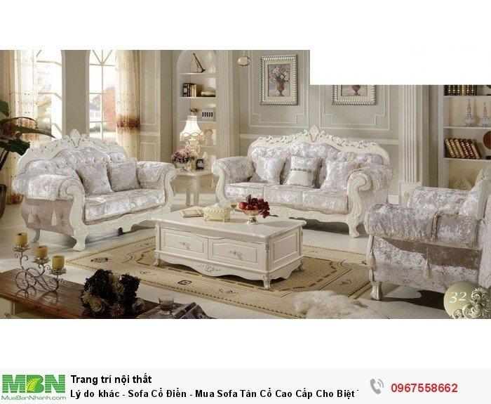 sofa phong cách cổ điển Bình Thạnh18