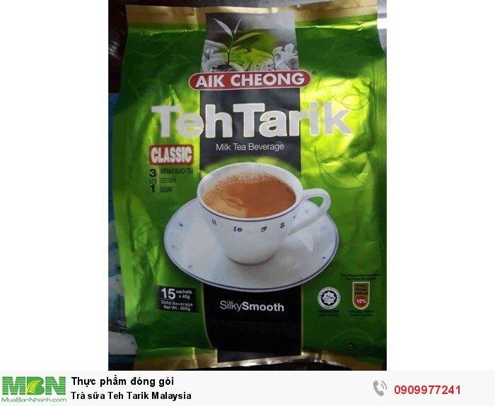 Trà sữa Teh Tarik Malaysia0