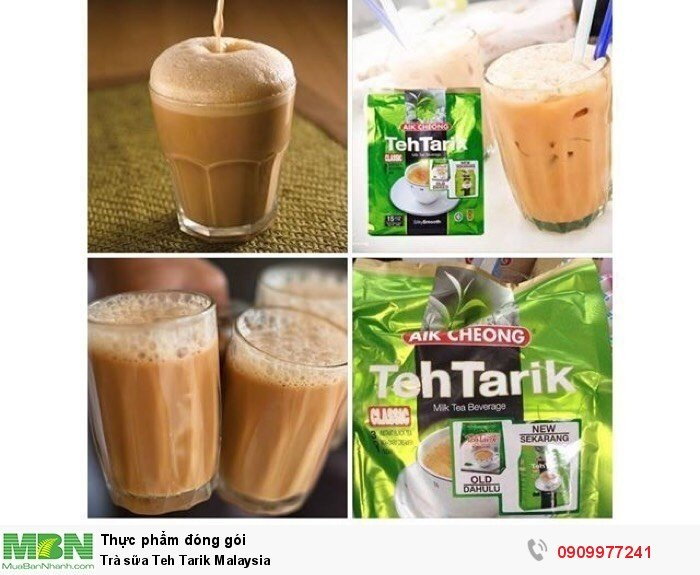 Trà sữa Teh Tarik Malaysia2