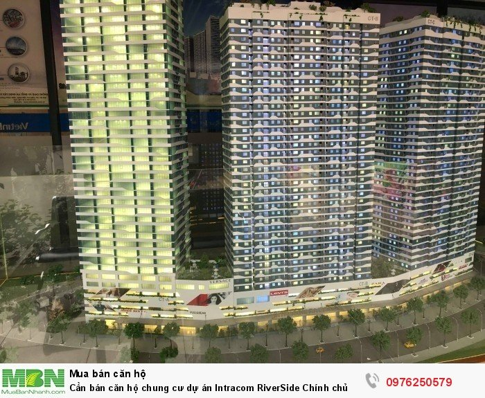 Cần bán căn hộ chung cư dự án Intracom RiverSide Chính chủ