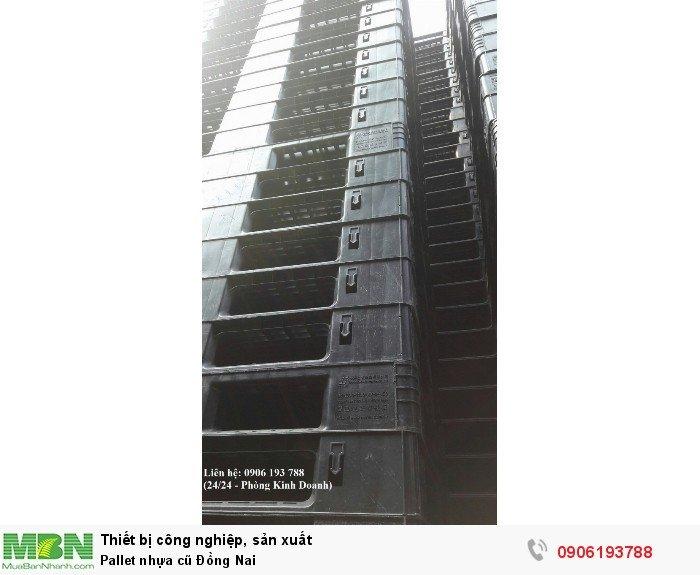 Pallet nhựa chuyên đóng hàng xuất khẩu cho các công ty khu công nghiệp - Liên hệ:...