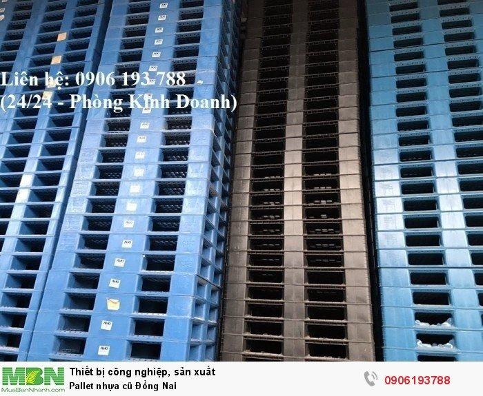 Pallet nhựa cũ Đồng Nai
