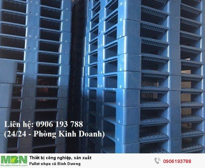 Pallet nhựa cũ Bình Dương, giao hàng toàn quốc, miễn phí vận chuyển số lượng lớn - Liên hệ: 0906193788 (Nguyễn Hòa 24/24)
