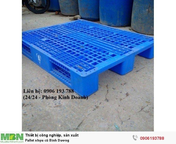 Pallet nhựa cũ giá rẻ tại Bình Dương (Nguyễn Hòa 24/24)