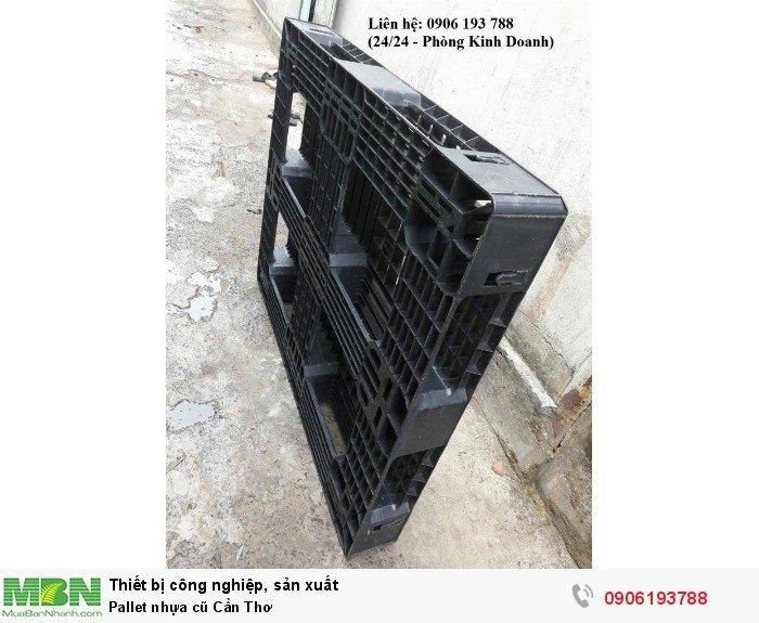 Pallet nhựa cũ Cần Thơ, giao hàng toàn quốc - Liên hệ: 0906193788 (Nguyễn Hòa 24/24)