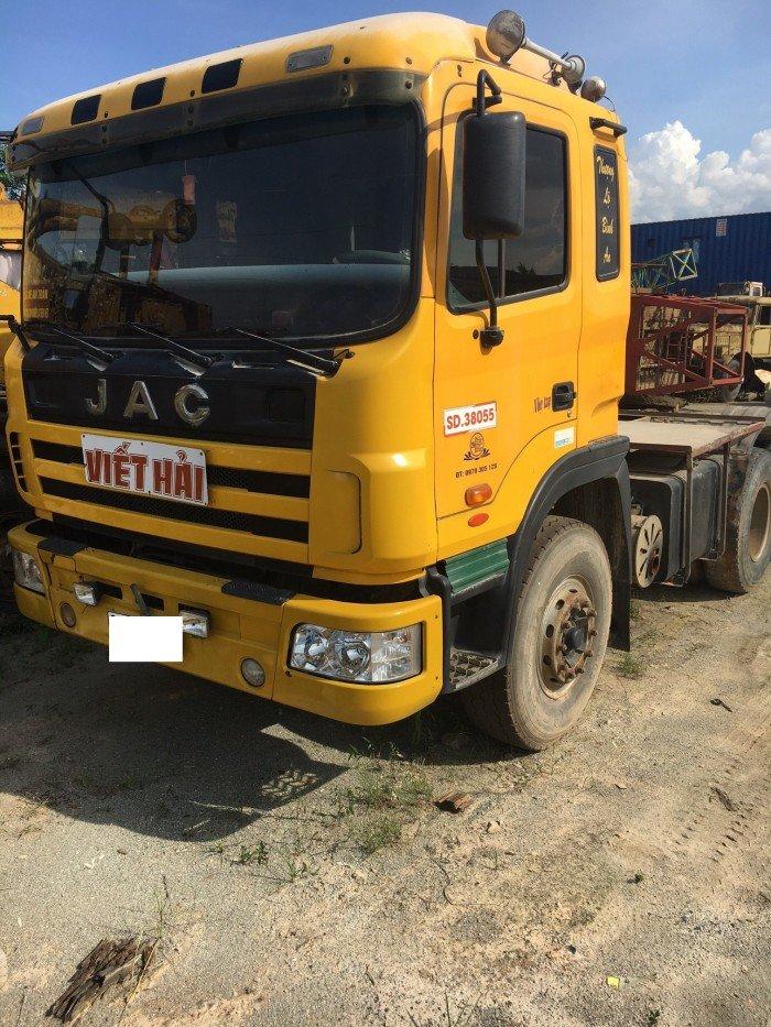 Bán xe tải đầu kéo JAC đời 2015, xe nhập, giá 460tr 0