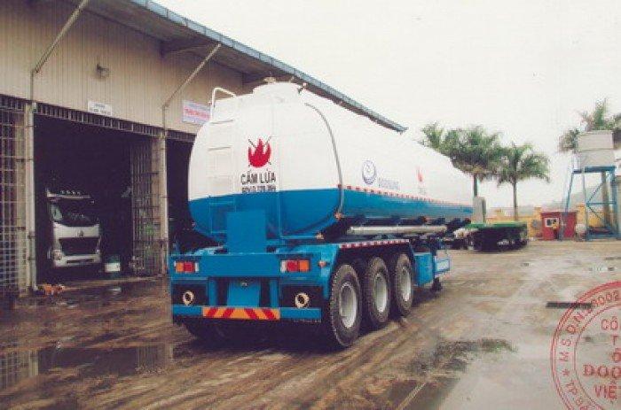 Doosung Miền Nam chuyên bán mooc Xitéc Doosung Chở xăng 39 m3, tải 29.5 tấn . Giá rẻ nhất.
