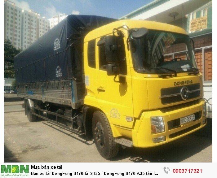 Bán xe tải DongFeng B170 tải 9T35 l DongFeng B170 9.35 tấn l DongFeng 9tan35 0