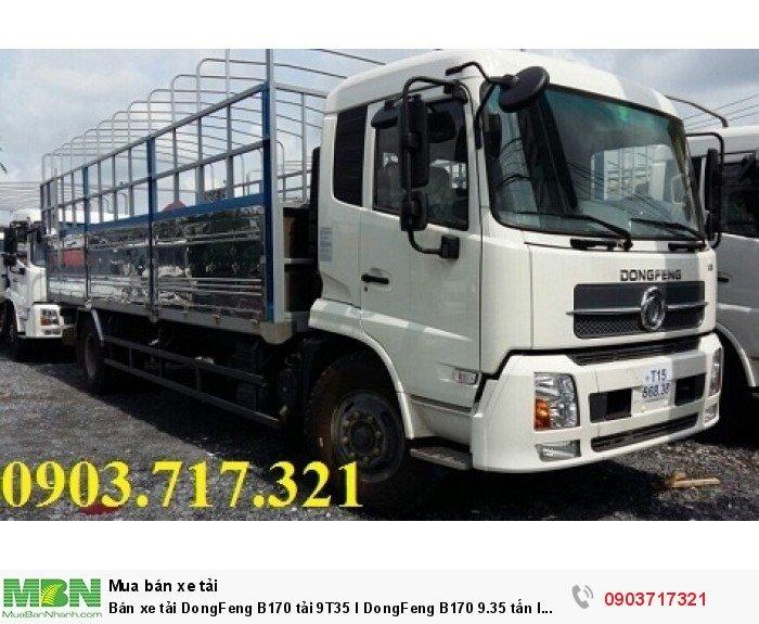 Bán xe tải DongFeng B170 tải 9T35 l DongFeng B170 9.35 tấn l DongFeng 9tan35