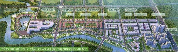 Bán gấp căn biệt thự song lập rẻ hơn nhà thô khu PhoDong. DT: 190m2