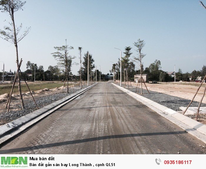 Bán đất gần sân bay Long Thành , cạnh QL51