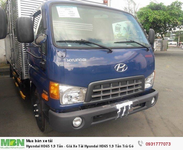 Hyundai HD65 1.9 tấn hỗ trợ đăng ký , đăng kiểm xe cho các khách ở tỉnh