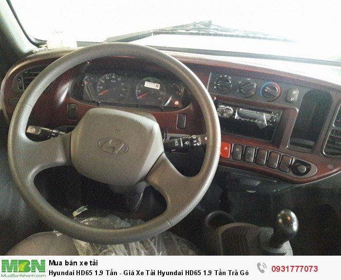 Hyundai HD65 1.9 Tấn - Giá Xe Tải Hyundai HD65 1.9 Tấn Trả Góp