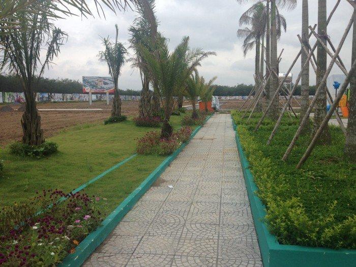 Dự án đất nền liền kề Sân bay Long Thành, hạ tầng hoàn thiện, hỗ trợ góp 50%