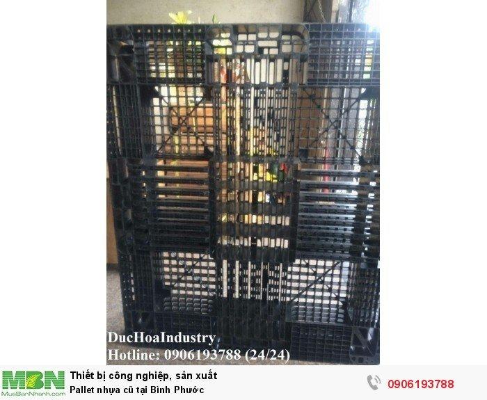 Pallet nhựa cũ tại Bình Phước, giao hàng toàn quốc - Liên hệ: 0906193788 (Nguyễn Hòa 24/24)