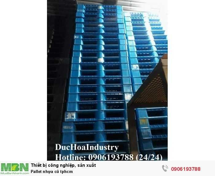 Pallet nhựa cũ tphcm, giao hàng toàn quốc - Liên hệ: 0906193788 (Nguyễn Hòa 24/24)