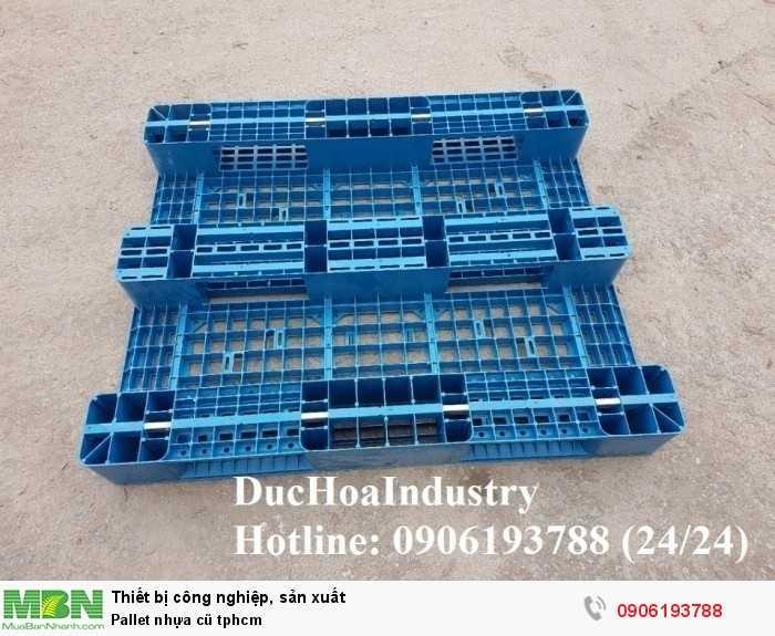 Bán pallet nhựa cũ giá rẻ tại tphcm, giao hàng toàn quốc - Liên hệ: 0906193788 (Nguyễn Hòa 24/24)