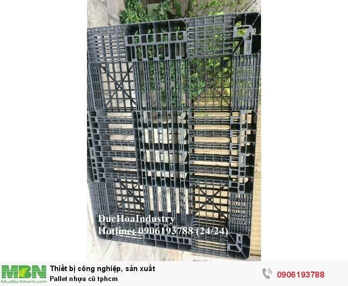 Công ty bán pallet nhựa cũ giá rẻ tại tphcm, giao hàng toàn quốc - Liên hệ: 0906193788 (Nguyễn Hòa 24/24)