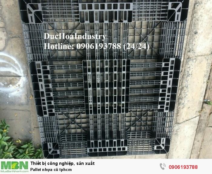 Cung cấp pallet nhựa cũ giá rẻ tại tphcm đủ mọi kích thước, giao hàng toàn quốc - Liên hệ: 0906193788 (Nguyễn Hòa 24/24)