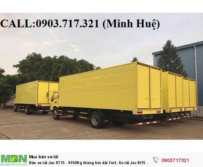 Bán xe tải Jac 8T15 - 8150Kg thùng kín dài 7m3. Xe tải Jac 8t15 - HFC1383K1 2