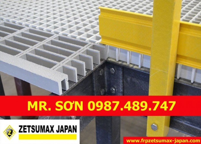 Tấm Sàn Nhựa Composite Grating30