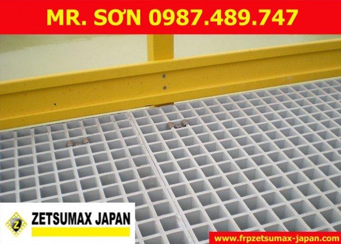 Tấm Sàn Nhựa Composite Grating16