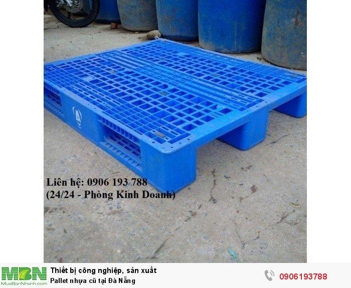 Bán pallet nhựa cũ tại Đà Nẵng, giao hàng toàn quốc - Liên hệ: 0906193788 (Nguyễn Hòa 24/24)