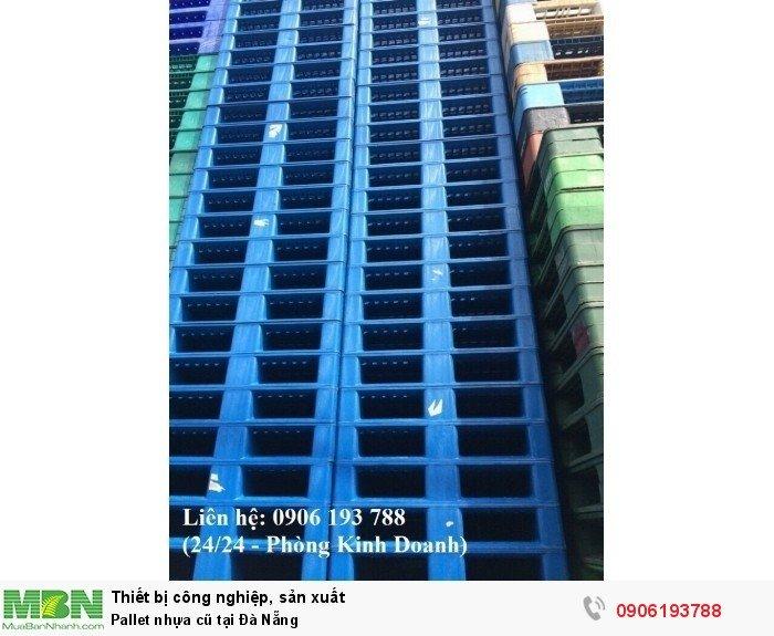 Bán pallet nhựa cũ giá rẻ tại Đà Nẵng, giao hàng toàn quốc - Liên hệ: 0906193788 (Nguyễn Hòa 24/24)