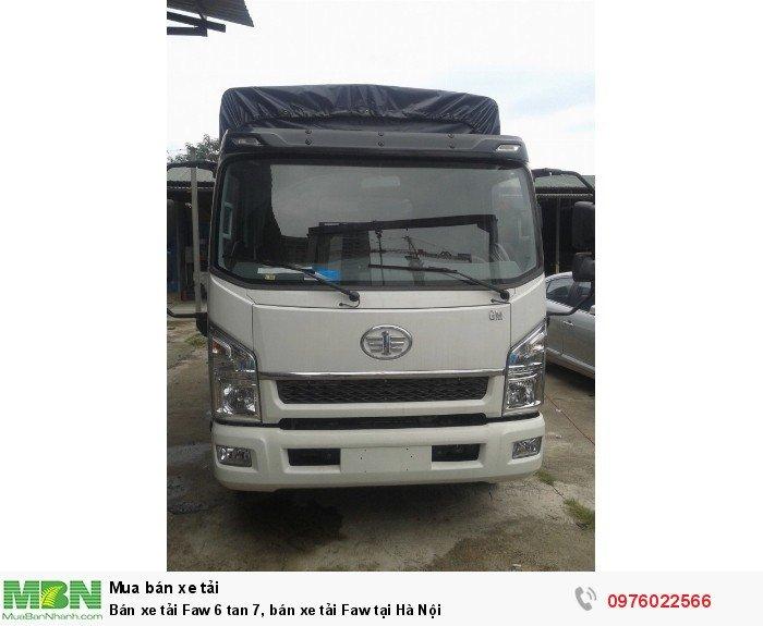 Bán xe tải Faw 6 tan 7, bán xe tải Faw tại Hà Nội