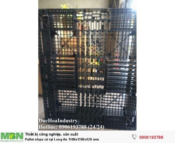 Pallet nhựa cũ tại Long An - Liên hệ: 0906193788 (Nguyễn Hòa 24/24)