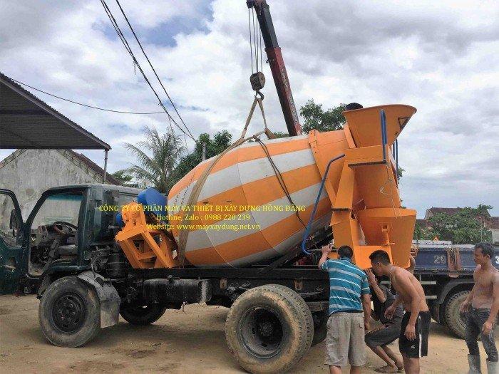 Bán bồn trộn bê tông 3 khối 2018 - giao hàng toàn quốc