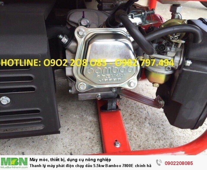 Thanh lý máy phát điện chạy dầu 5.5kw Bamboo 7800E chính hãng mới 100% giá cực rẻ3