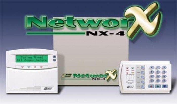 Trung tâm báo cháy NetworX NX4 4zone nhập khẩu từ Mỹ chất lượng tốt giá cạnh tranh0