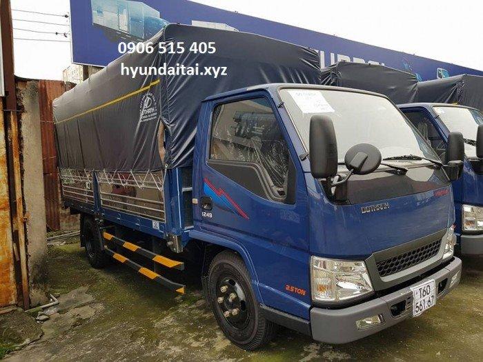 Xe tải iz49 2,5 tấn thùng mui bạt 4