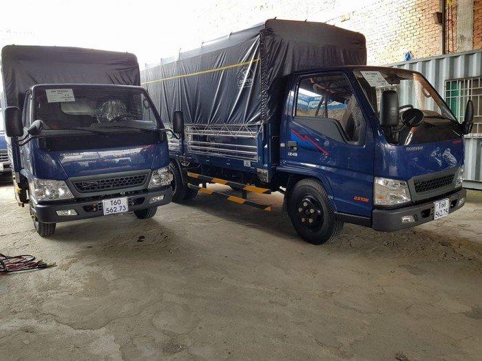Xe tải iz49 2,5 tấn thùng mui bạt 3