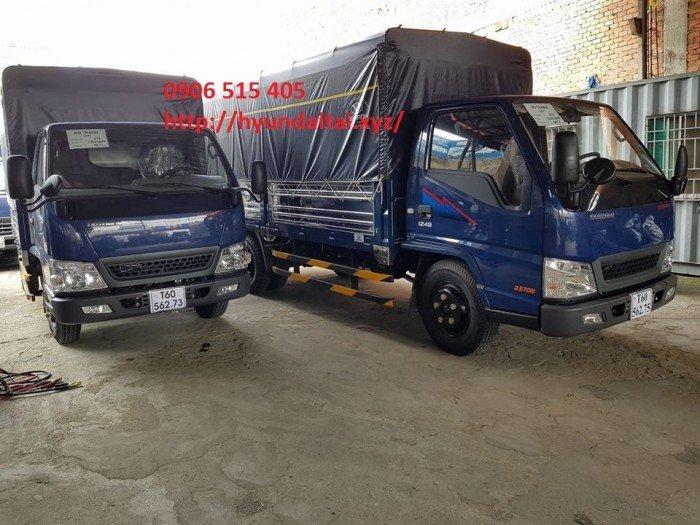 Xe tải iz49 2,5 tấn thùng mui bạt 2
