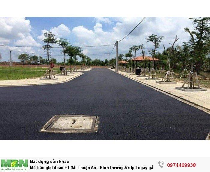 Mở bán giai đoạn F1 đất Thuận An - Bình Dương,Visip I ngày gần vòng xoay An Phú.