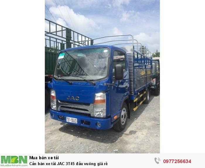 Cần bán xe tải JAC 3T45 đầu vuông giá rẻ 1