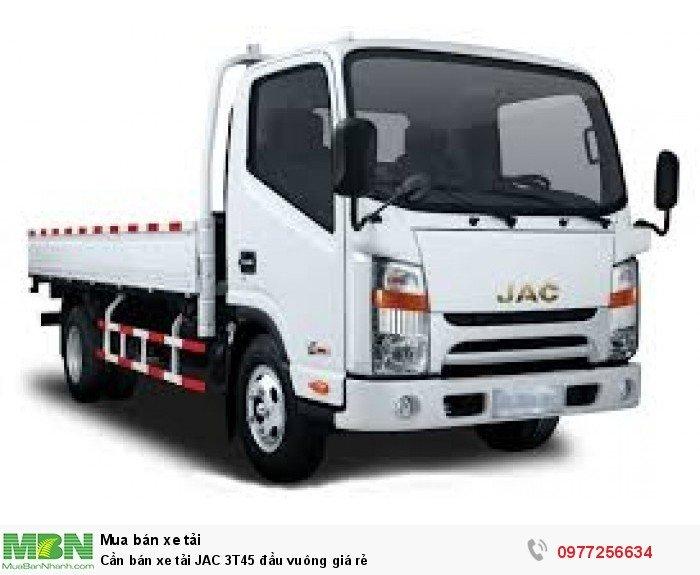 Cần bán xe tải JAC 3T45 đầu vuông giá rẻ 2