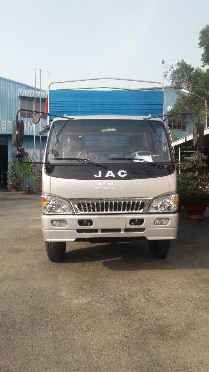 Jac 8 tấn, xe jac 8t4, tặng 100% phí trước bạ thùng dài 7300 * 2300 * 2275