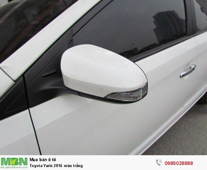 Toyota Yaris 2016 màu trắng 9