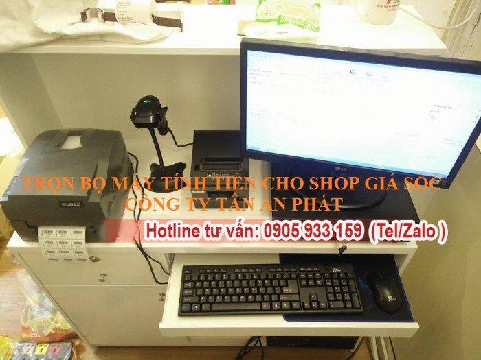 Cung cấp máy tính tiền cho Shop giày dép tại Thanh Hóa giá rẻ2