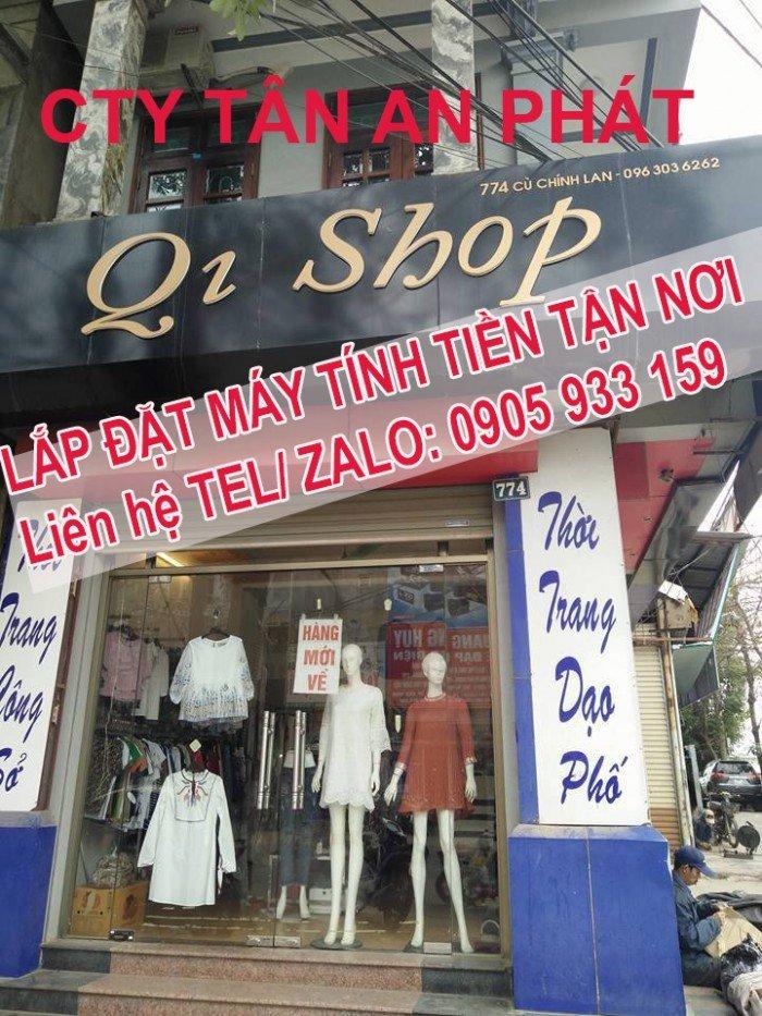 Cung cấp máy tính tiền cho Shop giày dép tại Thanh Hóa giá rẻ1
