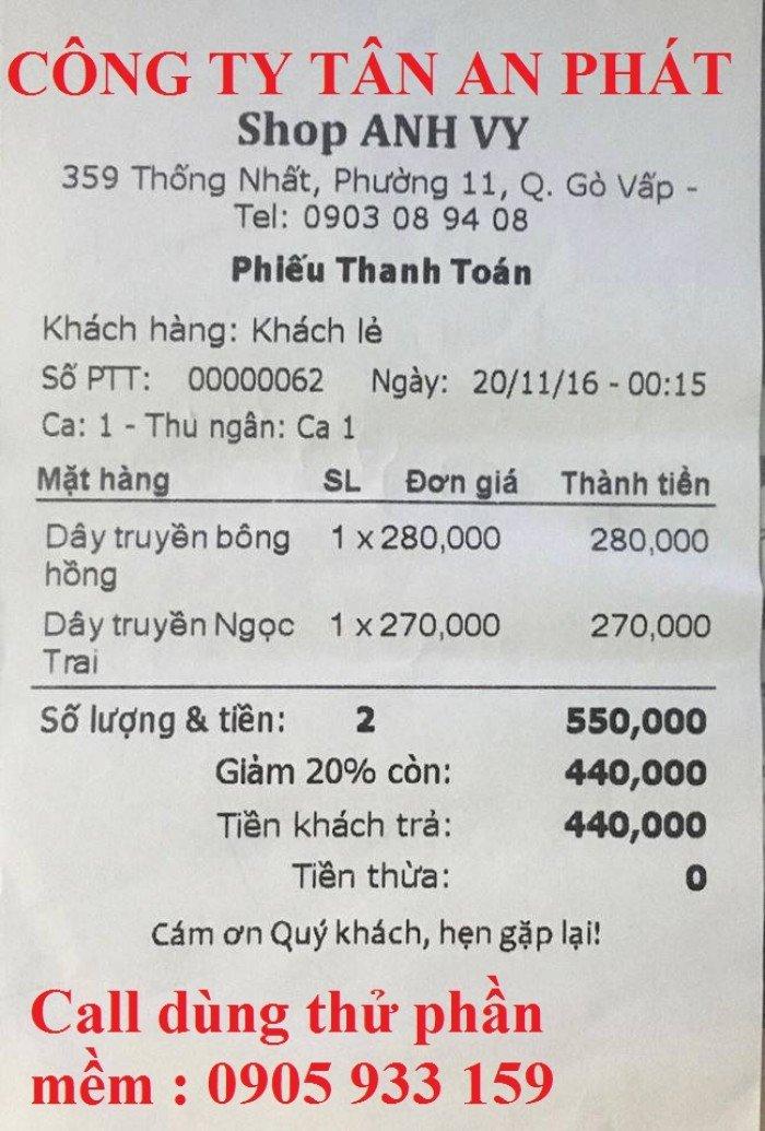 Cung cấp máy tính tiền cho Shop giày dép tại Thanh Hóa giá rẻ0
