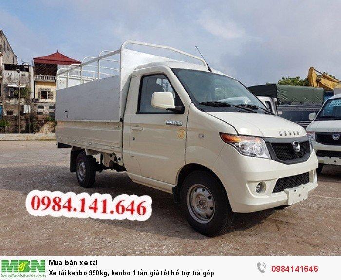 Xe tải kenbo 990kg, kenbo 1 tấn giá tốt hỗ trợ trả góp 1