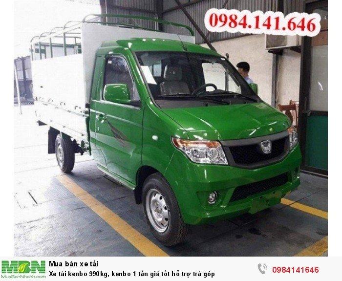 Xe tải kenbo 990kg, kenbo 1 tấn giá tốt hỗ trợ trả góp 2